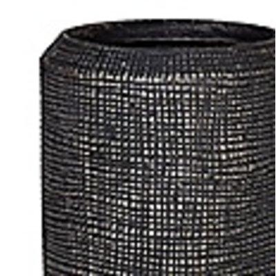 Polystone Alexi - Kunststof pot - Pewter Champagne Large - H 90cm