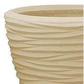 Polystone - Kunststof pot - Couple Seaside Natural - H 36cm