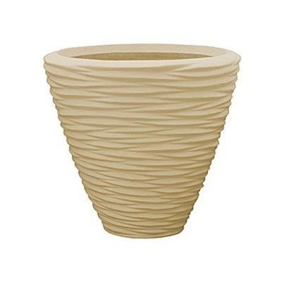 Polystone - Kunststof pot - Couple Seaside Natural - H 42cm