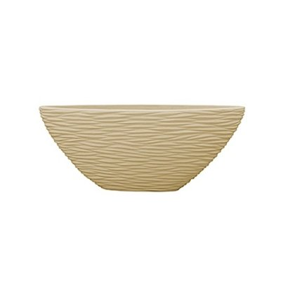 Polystone - Kunststof pot - Oval Seaside Natural - H 40cm