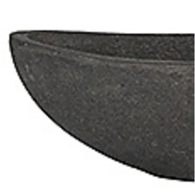 Polystone - Kunststof pot - Boat Smoke - H 13cm