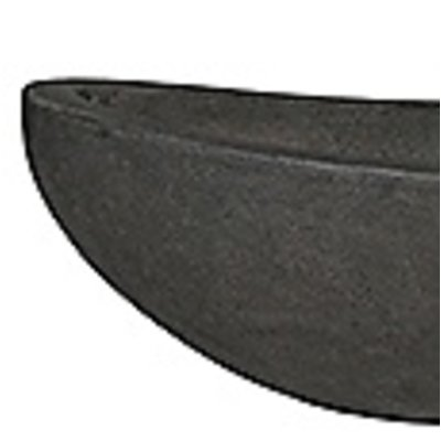 Polystone - Kunststof pot - Boat Smoke - H 18cm