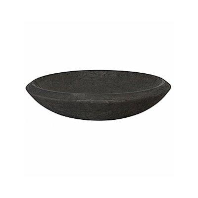 Polystone - Kunststof pot - Plate Smoke - H 13cm