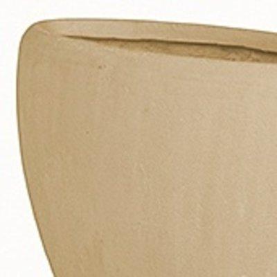 Polystone - Kunststof pot - Oval Natural - H 30cm