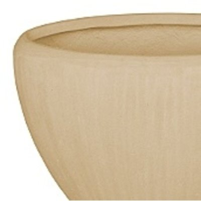 Polystone - Kunststof pot - Oval Natural - H 40cm