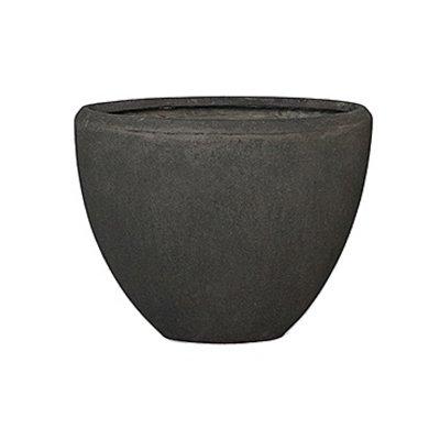 Polystone - Kunststof pot - Oval Smoke - H 30cm