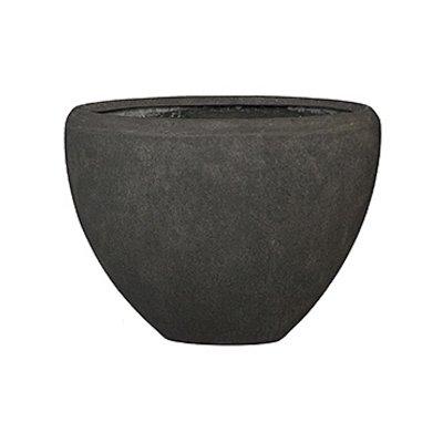 Polystone - Kunststof pot - Oval Smoke - H 40cm
