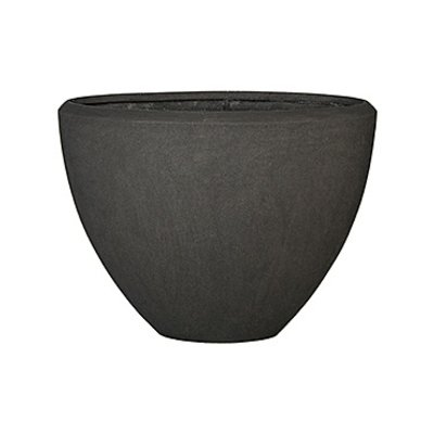 Polystone - Kunststof pot - Oval Smoke - H 70cm