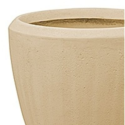 Polystone - Kunststof pot - Couple Natural - H 24cm