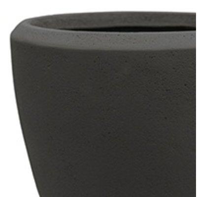 Polystone - Kunststof pot - Couple Smoke - H 24cm