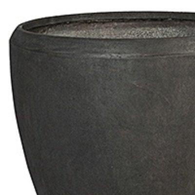 Polystone - Kunststof pot - Couple Smoke - H 80cm
