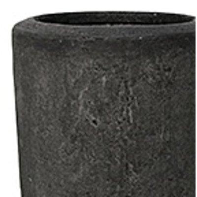 Polystone - Kunststof pot - Partner Smoke - H 90cm