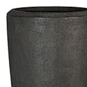 Polystone - Kunststof pot - Partner Smoke - H 120cm