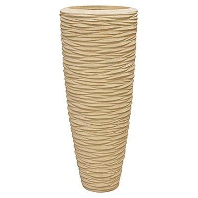 Polystone - Kunststof pot - Seaside Natural - H 90cm