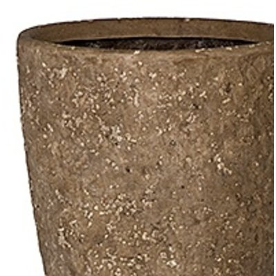 Polystone Rock - Kunststof pot - Rockstone Partner Grey Extra Large - H 46cm