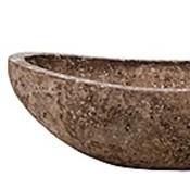 Polystone Rock - Kunststof pot - Boat - H 13cm