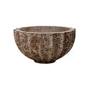 Polystone Rock - Kunststof pot - Bowl - H 30cm