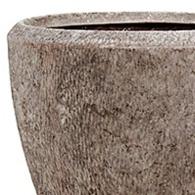 Polystone Rock - Kunststof pot - Couple - H 40cm