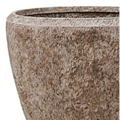 Polystone Rock - Kunststof pot - Couple - H 50cm