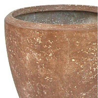 Polystone Rock Plain- Kunststof pot - Couple - H 30cm