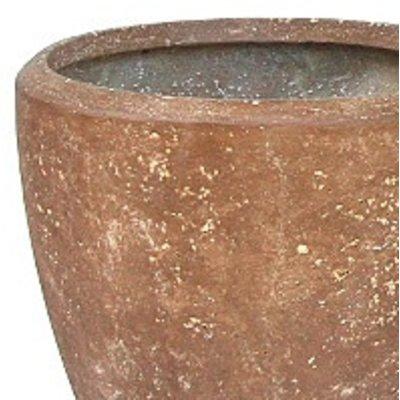 Polystone Rock Plain- Kunststof pot - Couple - H 50cm