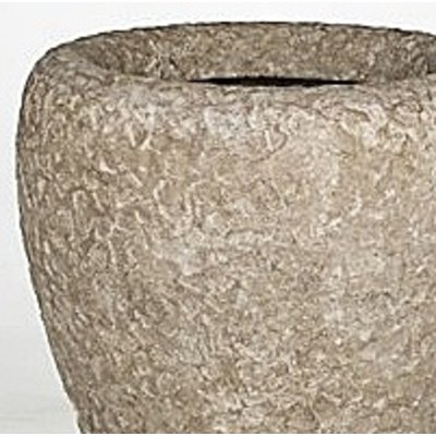 Polystone Rock- Kunststof pot - Couple Rough - H 90cm