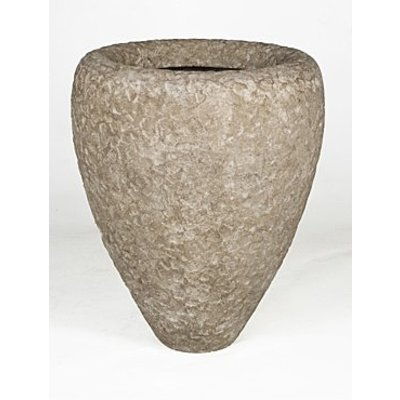 Polystone Rock- Kunststof pot - Couple Rough - H 90cm