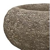 Polystone Rock - Kunststof pot - Findling Brown - H 18cm
