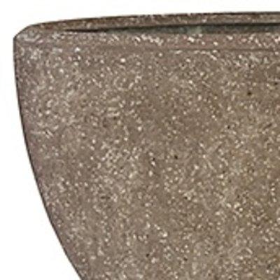 Polystone Rock Plain- Kunststof pot - Oval - H 70cm