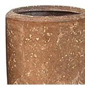 Polystone Rock Plain- Kunststof pot - Partner - H 40cm