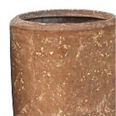 Polystone Rock Plain- Kunststof pot - Partner - H 90cm