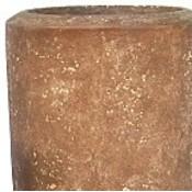 Polystone Rock Plain- Kunststof pot - Partner - H 150cm