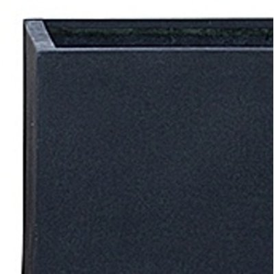 Polystone Rock - Kunststof pot - Natie Square Smoke - H 50cm