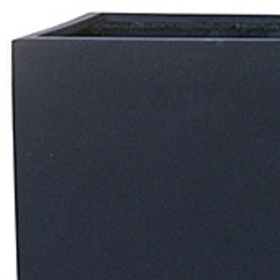 Polystone Rock - Kunststof pot - Natie Square Smoke - H 60cm