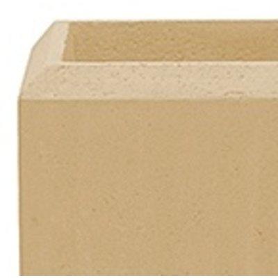 Polystone - Kunststof pot - Square Natural - H 17cm