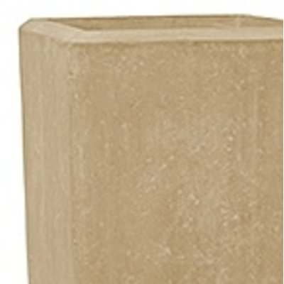 Polystone - Kunststof pot - Square Natural - H 70cm