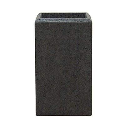 Polystone - Kunststof pot - Square Smoke - H 39cm