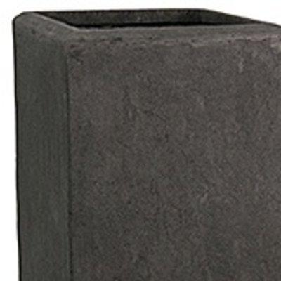 Polystone - Kunststof pot - Square Smoke - H 70cm