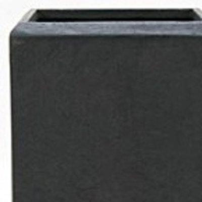 Polystone - Kunststof pot - Square Smoke - H 90cm