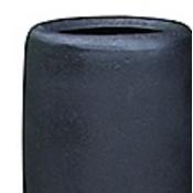 Polystone - Kunststof pot - Skinny Planter Smoke - H 90cm