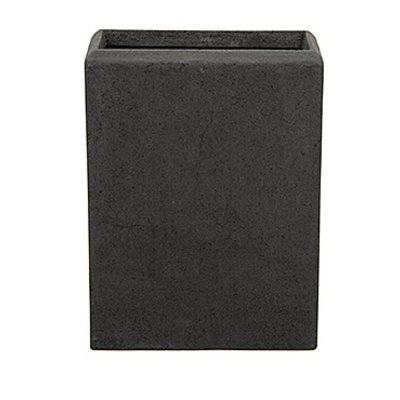Polystone - Kunststof pot - Rectangle Smoke - H 45cm