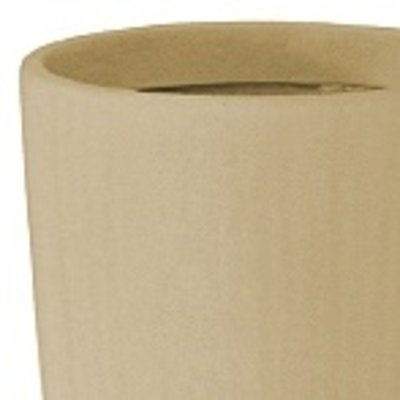 Polystone Timeless - Kunststof pot - Round Natural - H 59cm