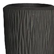 Polystone - Kunststof pot - Partner Verside Smoke - H 90cm