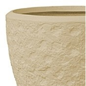 Polystone - Kunststof pot - Couple Rockwell Natural - H 40cm