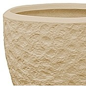 Polystone - Kunststof pot - Couple Rockwell Natural - H 50cm