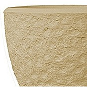 Polystone - Kunststof pot - Couple Rockwell Natural - H 65cm