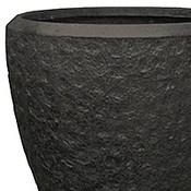 Polystone - Kunststof pot - Couple Rockwell Smoke - H 40cm