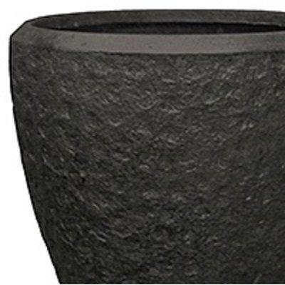 Polystone - Kunststof pot - Couple Rockwell Smoke - H 50cm