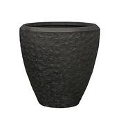 Polystone - Kunststof pot - Couple Rockwell Smoke - H 65cm