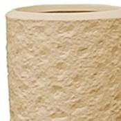 Polystone - Kunststof pot - Partner Rockwell Natural - H 70cm